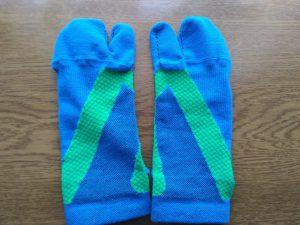 フレクサーソックス 青緑